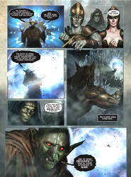 FENRIS: Wolf-God page 02 by DAVE WILKINS by DeevElliott