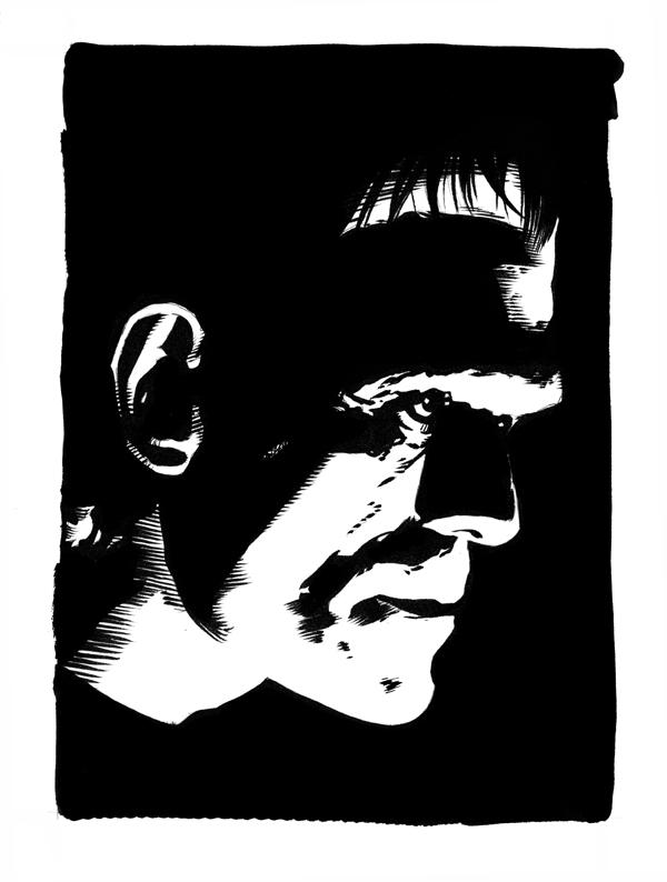 Grim Frankenstein's Monster by DeevElliott