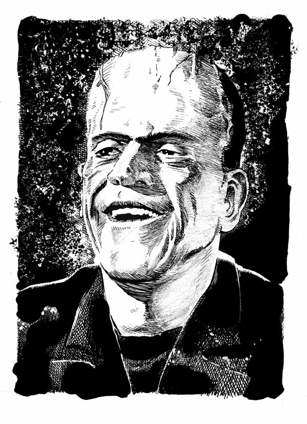Happy Frankenstein's Monster by DeevElliott