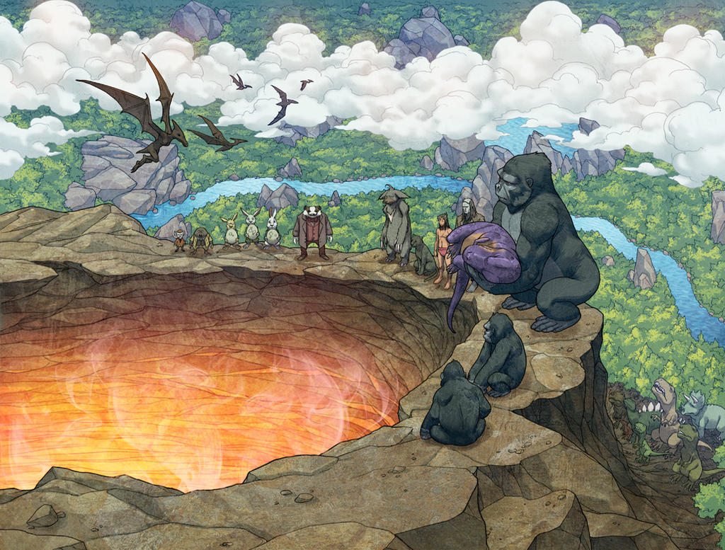 Weirding Willows Funeral Pyre by DeevElliott