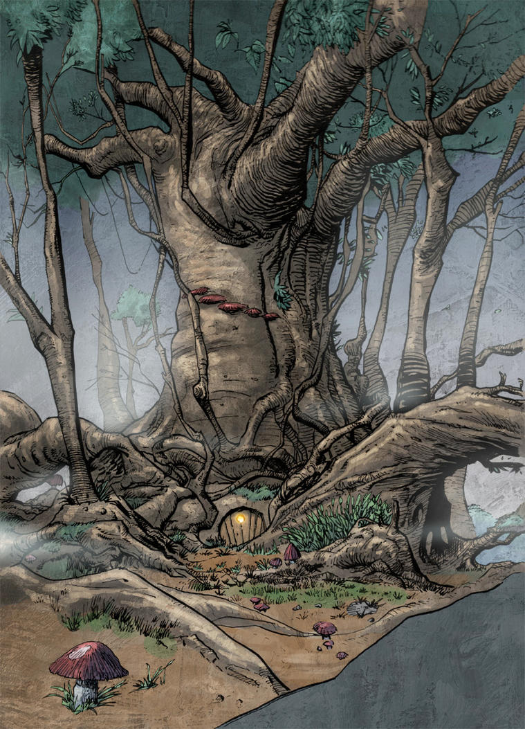 Badger's House - The Weirding Willows by DeevElliott