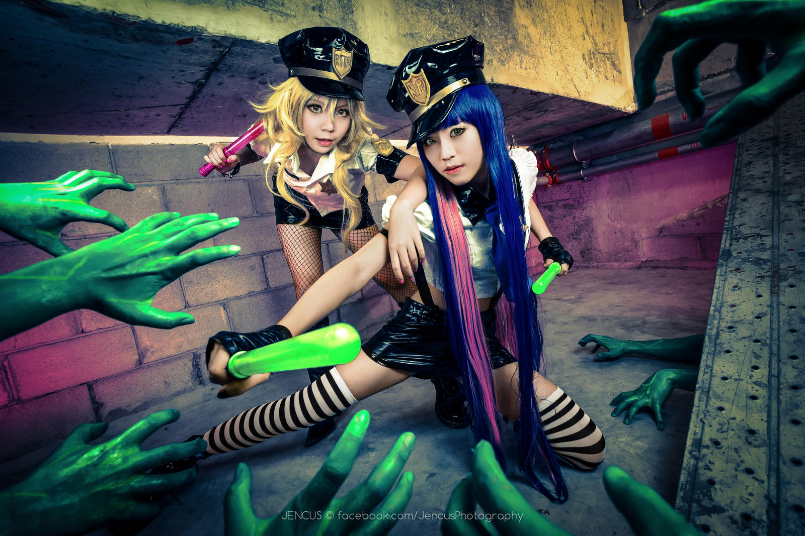 Panty and Stocking Police Ver by Jencus