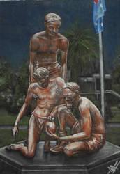 Sir Edward 'Weary' Dunlop Statue, Benalla
