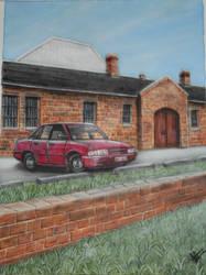 My Holden Commodore vp