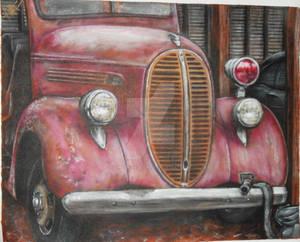 1930s fire truck