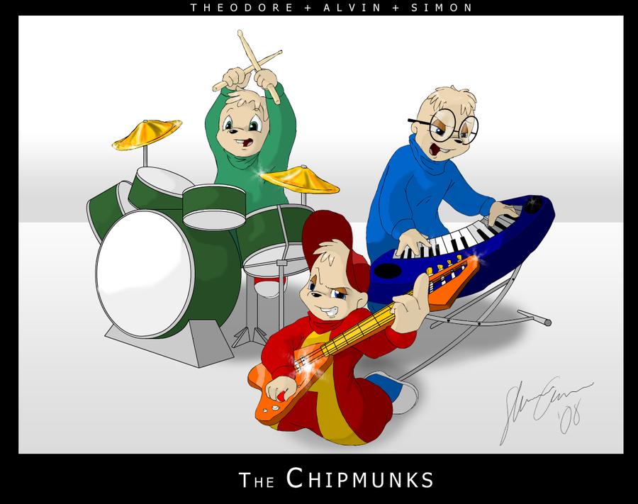 The Chipmunks By Kyrio On DeviantArt