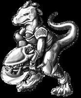 Soul Calibur - Lizardman by kyrio