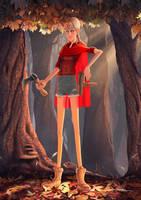 Badass Red Riding Hood concept by Popsaart
