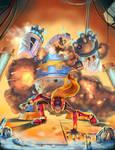 Megaman Zero VS Poler Kamrous