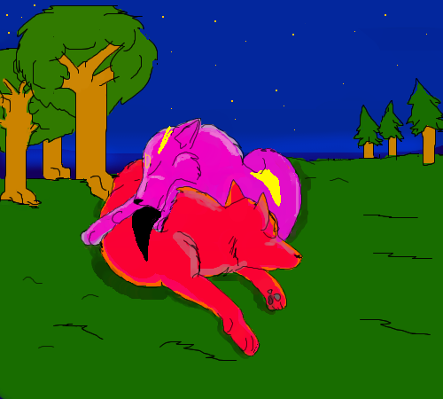 Mes dessins - Page 2 Red_and_Pink_by_redwolf2005