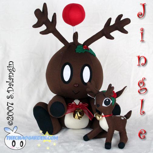 Jingle the Chao Plushie