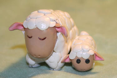 Harvest Moon sheep by BriteWingz