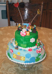 Mario Cake by BriteWingz