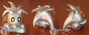 Silver Chao figure
