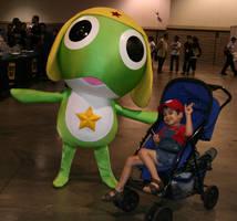 Sgt Frog meets Mario by BriteWingz