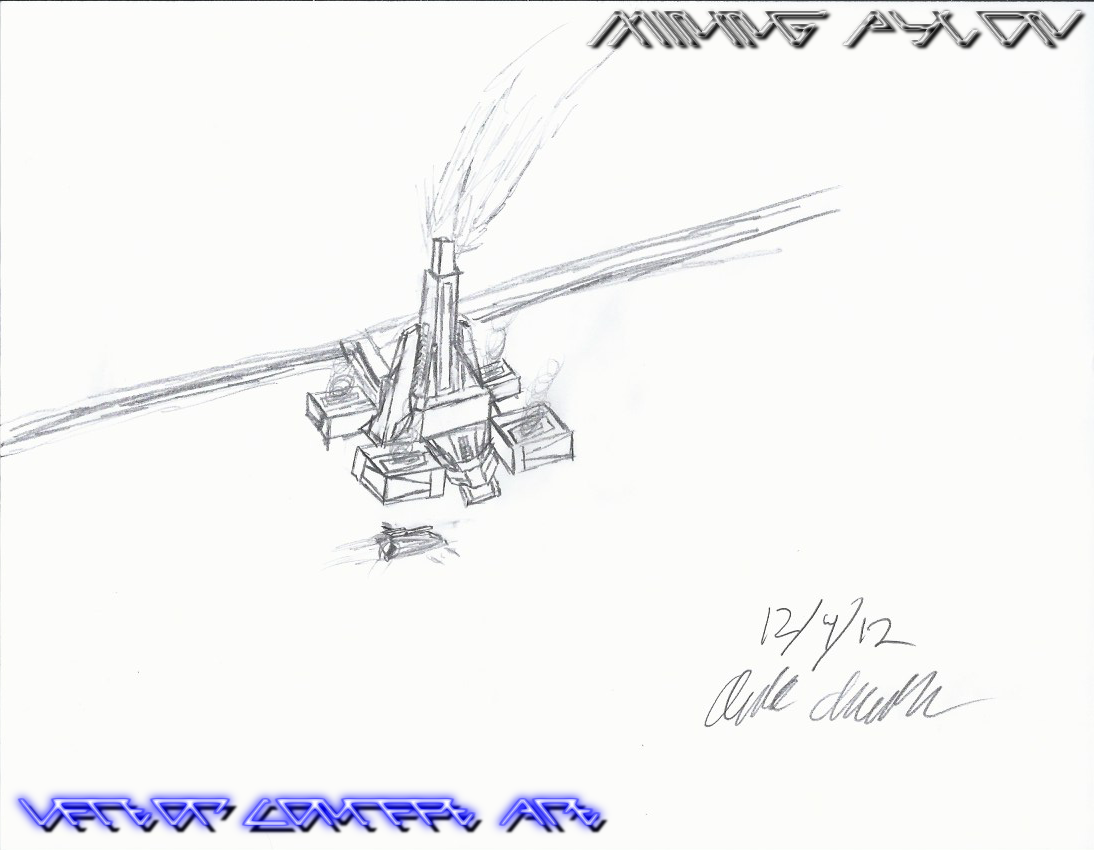 Vector Mining Pylon Concept by Arsanthania