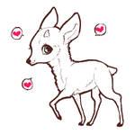 Deer lineart