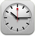 iOS 6 iPad clock icon by FoneBone2k