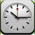 iOS 6 iPad clock icon by FoneBone2k