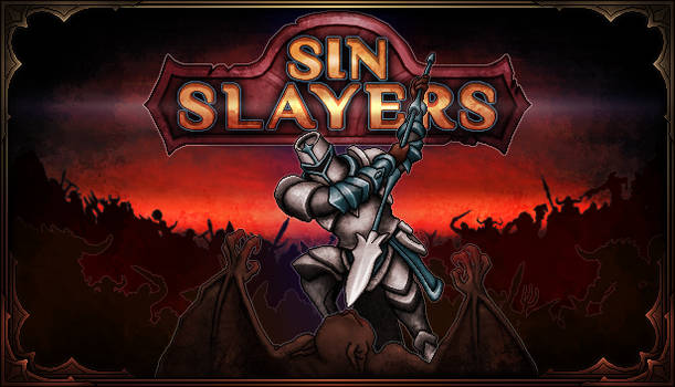Key ART. Sin Slayers. Pixel-art Game by Grimassy