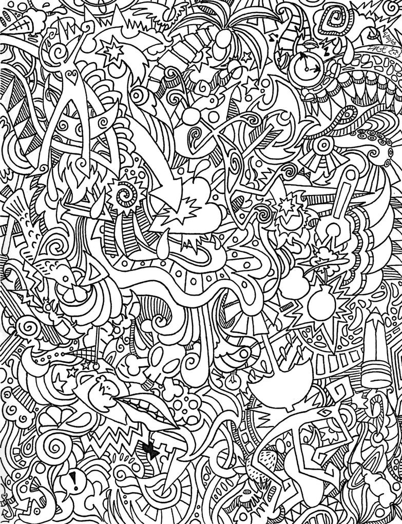 Trippy peace coloring pages car interior design for Trippy coloring pages