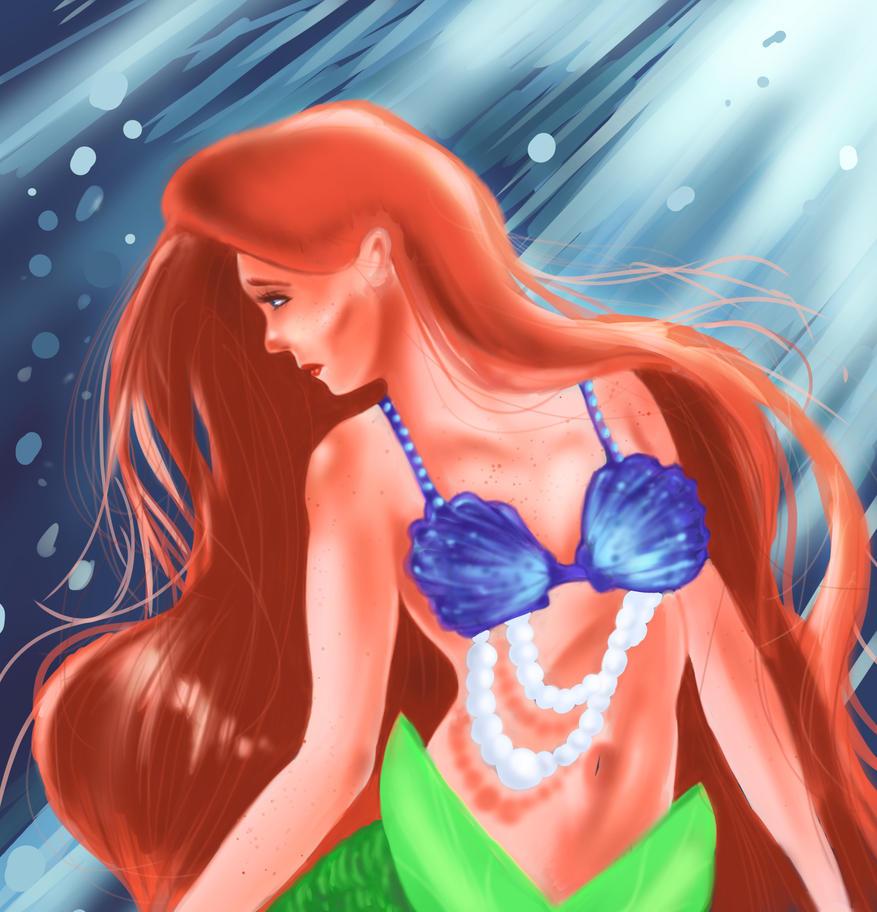 Ariel by ink110
