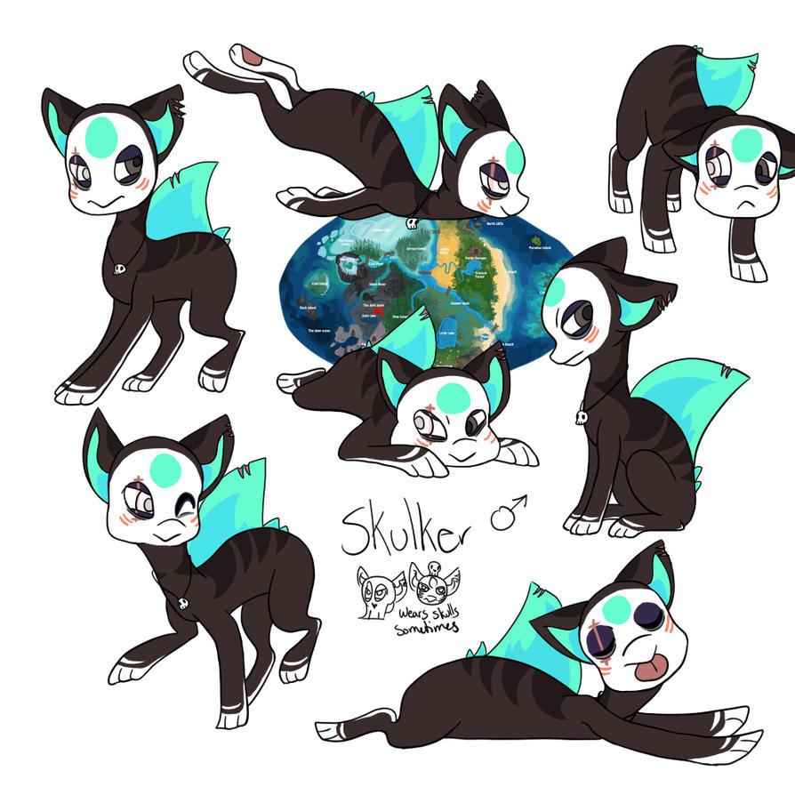 Skulker by Velvet--Kitten