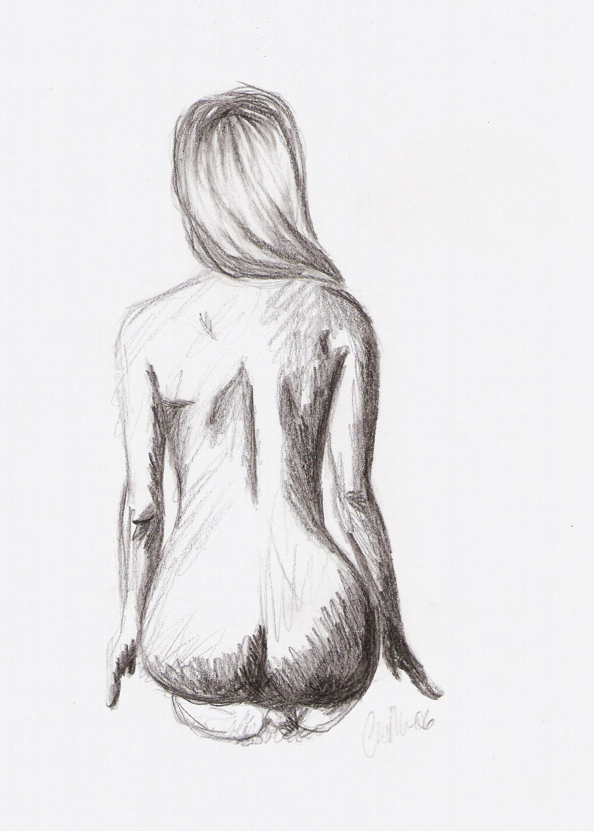 Drawings Of Naked Womens 72