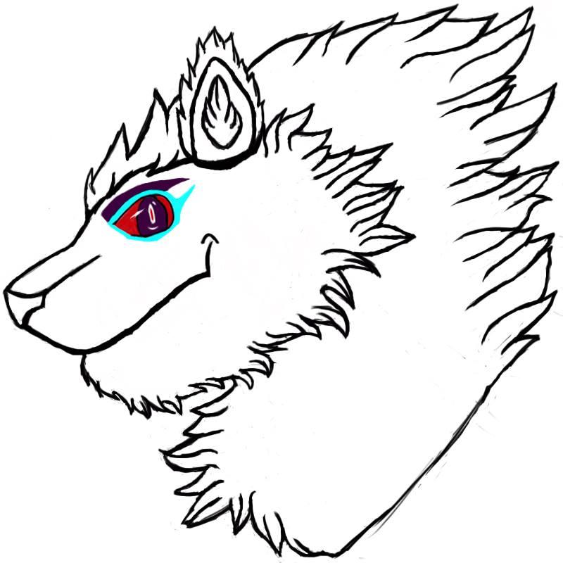 corrupted Blitz  animatronic wolf husky hybrid by Glacierlioness