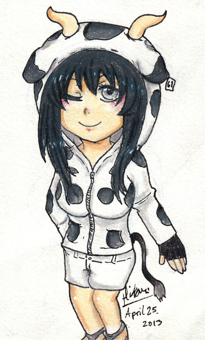 creative anime cow outfit game