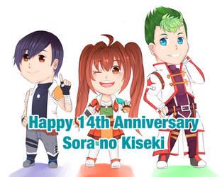 Sora no Kiseki - 14th Anniversary by illuminatedflower