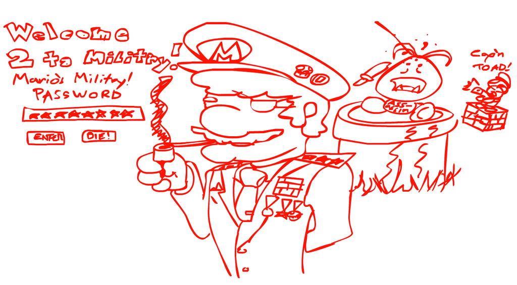 Mario's Military by JaktheRabbit