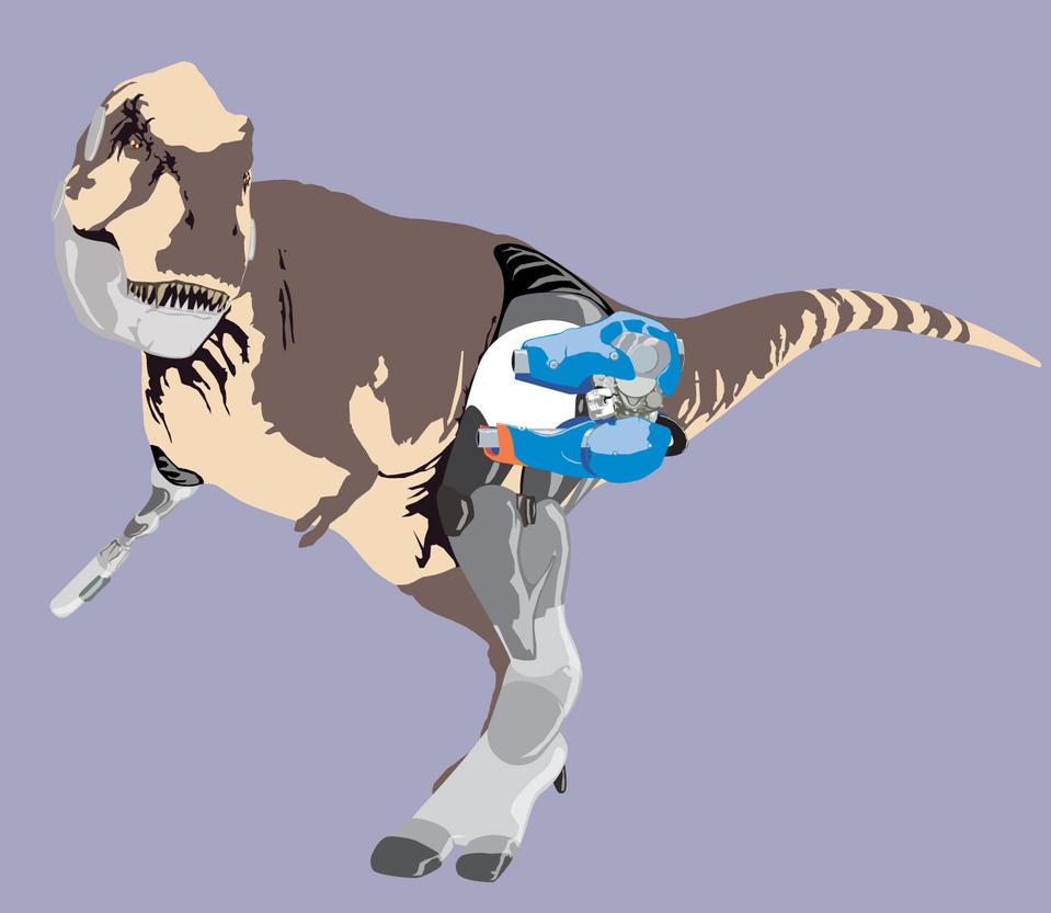 Robosaurus Rex by JaktheRabbit