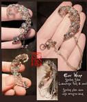 Silver Ear Wrap (Daily Deviation)