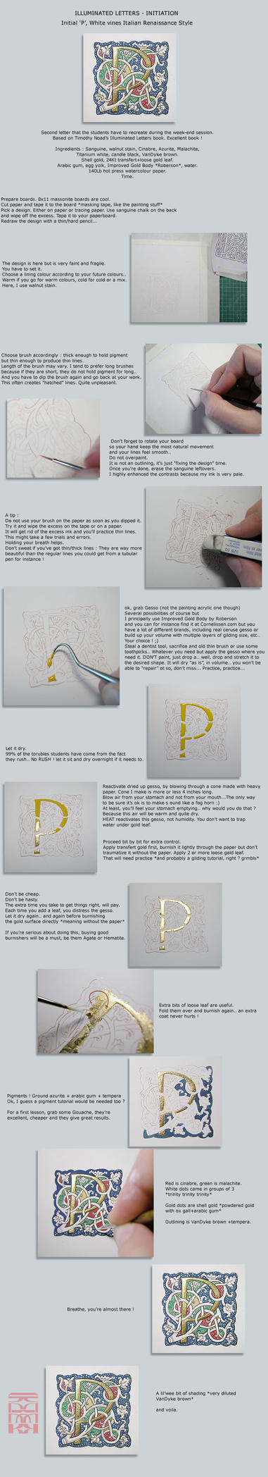 Illuminated 'P' - Tutorial (Daily Deviation) by somk