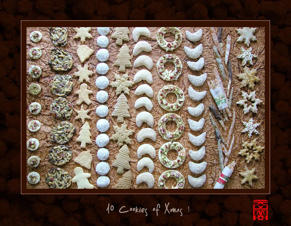 10 Cookies of Xmas by somk