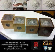 Settler of Catan Trophies 2011