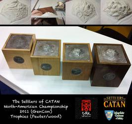 Settler of Catan Trophies 2011