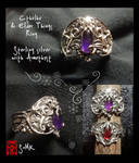 Cthulhu and Elder Things ring