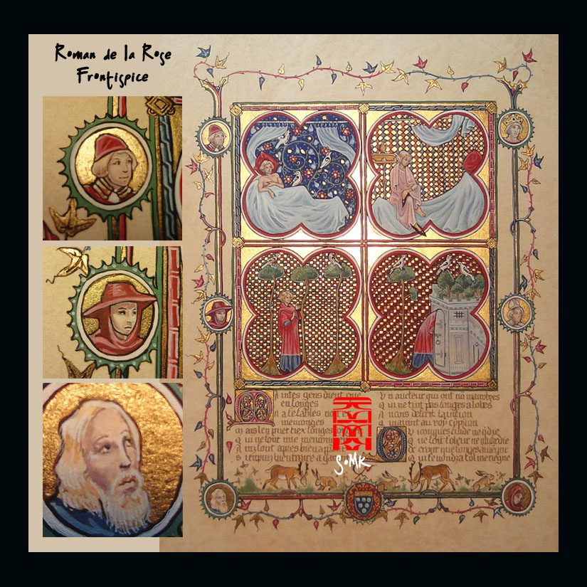 Roman de la Rose - First page/Frontispice by somk