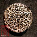 Kells - 3 snakes brooch