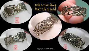 Oak Leaves Ring
