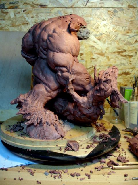 minotaure 2 by sculptart31