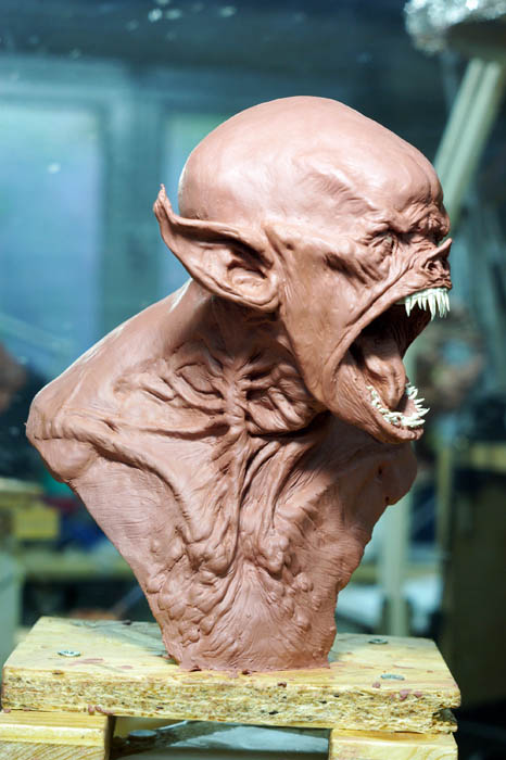 vampire bust2 by sculptart31