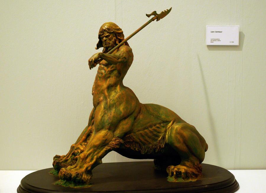 lion centaure by sculptart31