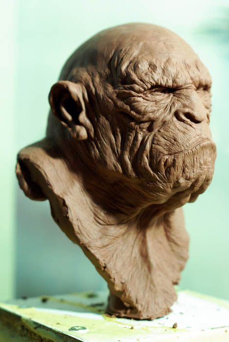Apeman2 by sculptart31