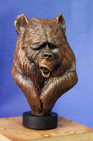 Gus Bear by sculptart31
