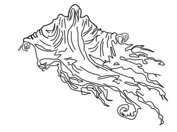 dementor coloring pages how to draw a dementor from the harry potter serie by