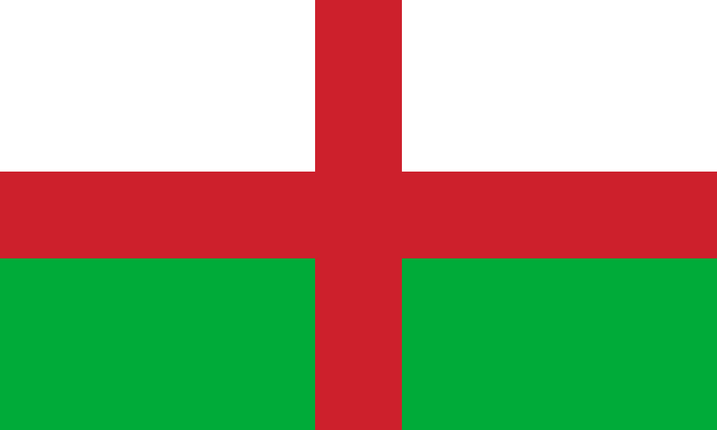 Flag of the United Kingdom of England and Wales by Linumhortulanus