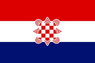 Flag of th Croatian Confederation